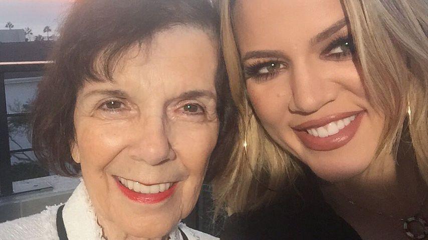 Drama nach Bikinifoto: War Khloé Kardashians Oma schuld?
