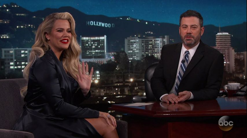 Khloe Kardashian und Jimmy Kimmel
