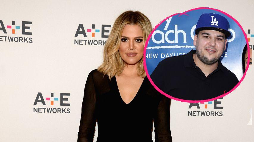Für Mini-Moment: Rob Kardashian taucht in Khloes Story auf