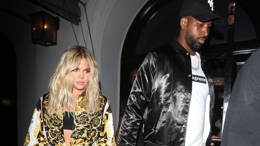 Khloé Kardashian und Tristan Thompson