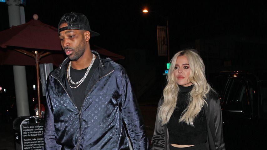 Khloé Kardashian und Tristan Thompson im Januar 2019