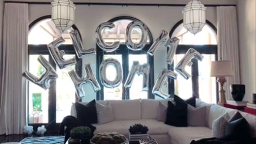Khloe Kardashians Willkommensgeschenk von Tristan