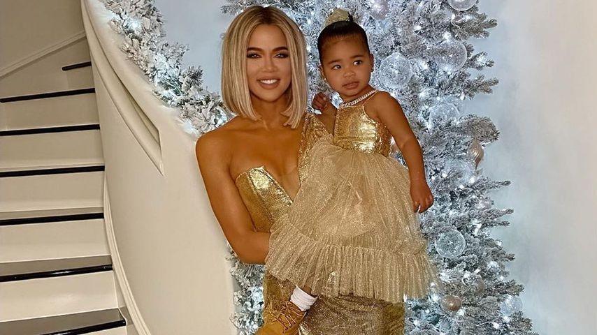 Khloe Kardashian und True Thompson an Heiligabend