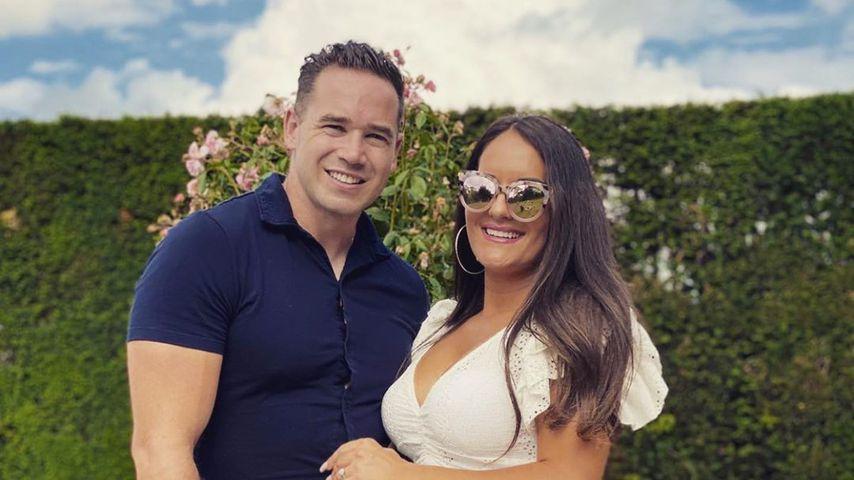 Kieran Hayler und Michelle Penticost im Juni 2020