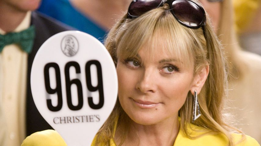 """Kim Cattrall als Samantha Jones in """"Sex and the City"""""""
