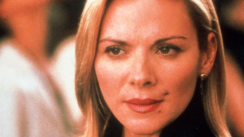 "Kim Cattrall als Samantha Jones in ""Sex and the City"""