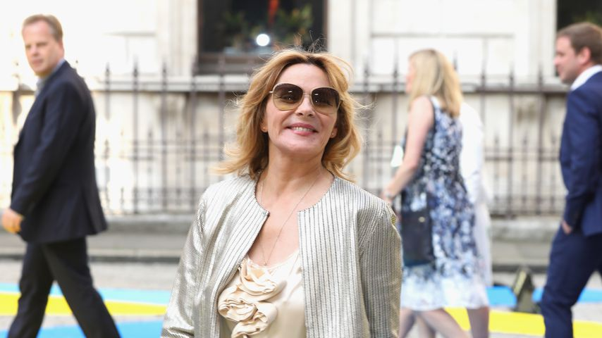 Kim Cattrall in London