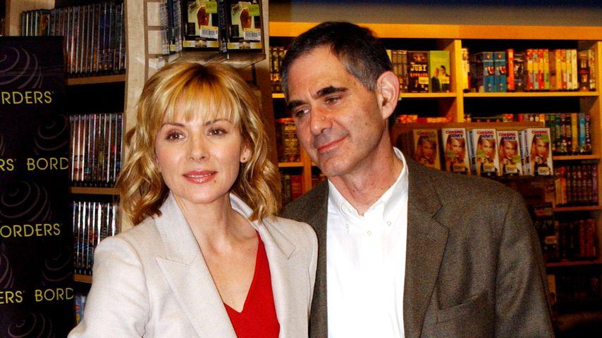 Kim Cattrall und ihr Mann Mark Levinson im Jahr 2002