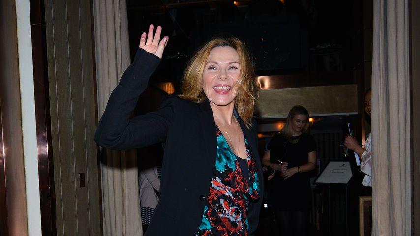 Schauspielerin Kim Cattrall in London