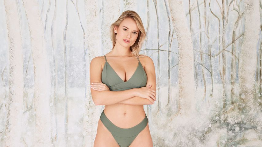 Wegen Kritik? Bachelor-Girl Kim witzelt über Bikini-Pics