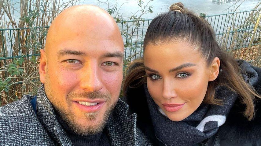 Kim Gloss mit ihrem Partner Alexander