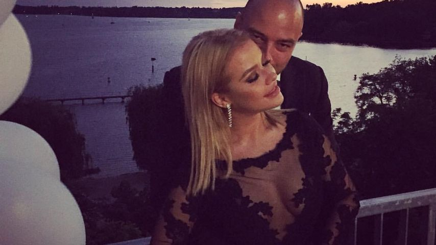 Kim Gloss und Alexander bei Sila Sahins Hochzeit