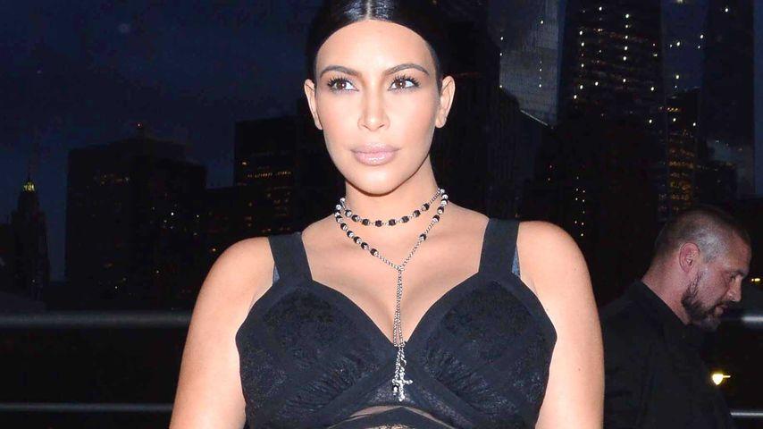 Schlechter Stil: Kim Kardashians Schwanger-Look fällt durch!