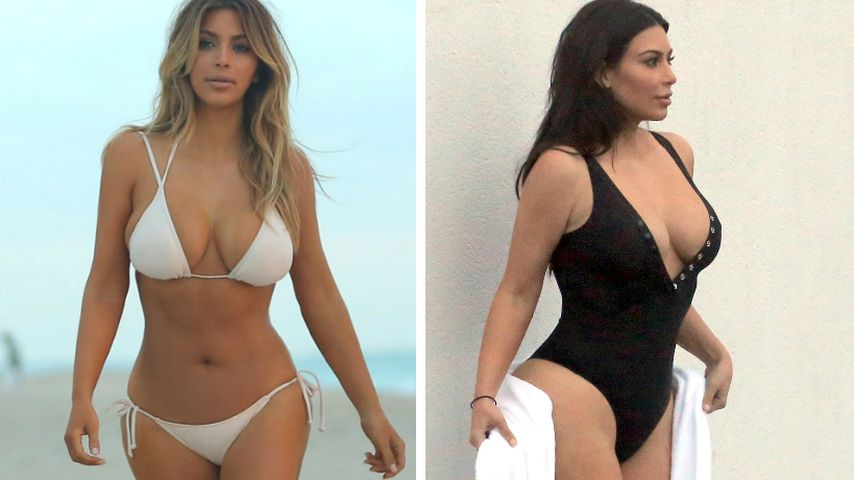 Kim Kardashian: Zwei Kinder, zwei After-Baby-Bodys!