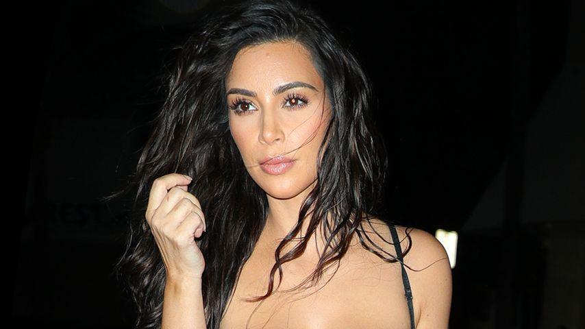 Ganz schön freizügig: Kim Kardashian im heißen Dessous-Look!