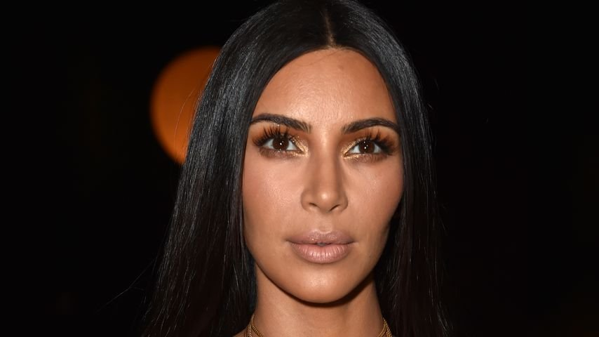 """Kim Kardashian bei der Modenschau von """"Givenchy"""" in Paris"""
