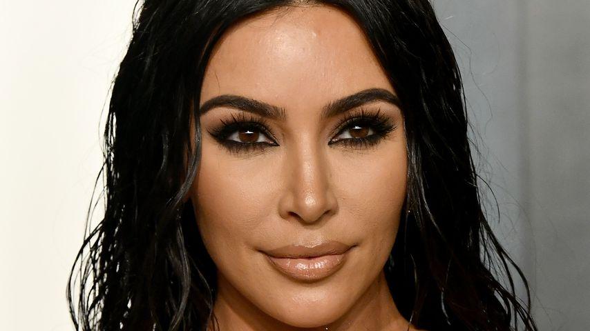 Kim Kardashian bei der Vanity Fair Oscar Party im Februar 2020