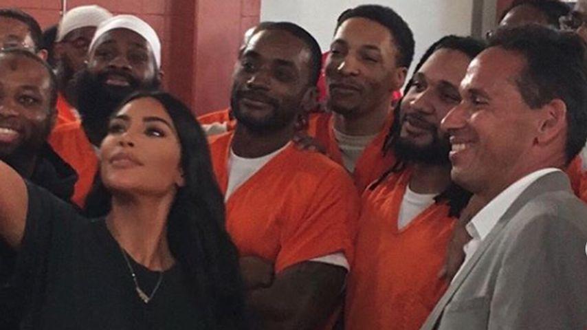 Kim Kardashian in einer Haftanstalt in Washington