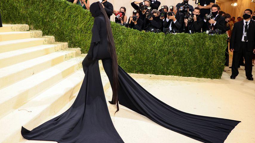 Kim Kardashian bei der Met Gala, 2021