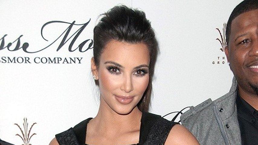 Kim Kardashian zeigt sich extrem kurvig