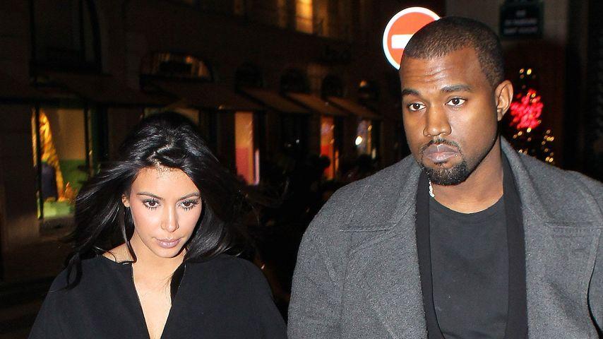 Kim Kardashian & Kanye West: Romantik-Date in NYC
