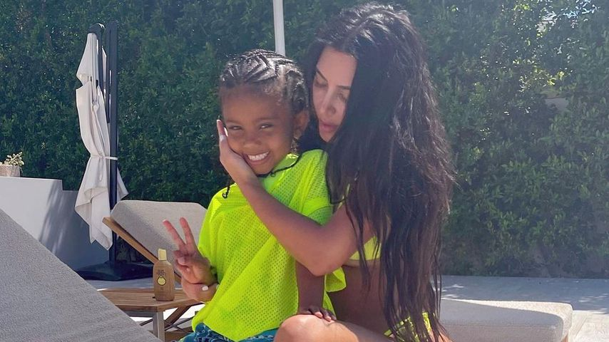 Kim Kardashian verrät jetzt: Saint West (5) hatte Corona