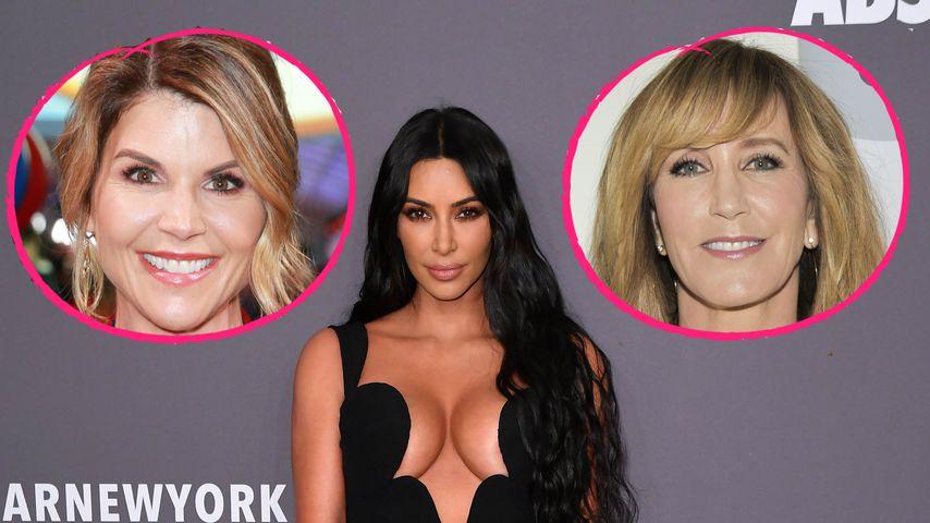 Kim K. kritisiert Lori & Felicity für Collage-Schmiergelder