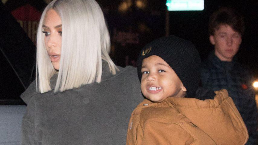Kim Kardashian mit Baby Saint West in Thousand Oaks