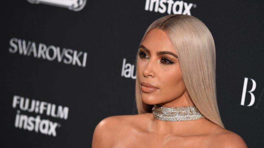"""Kim Kardashian auf einem """"Harper's Bazaar""""-Event auf der New York Fashion Week im September 2017"""