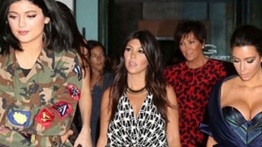 Kim Kardashian stiehlt ihrer Schwester die Show