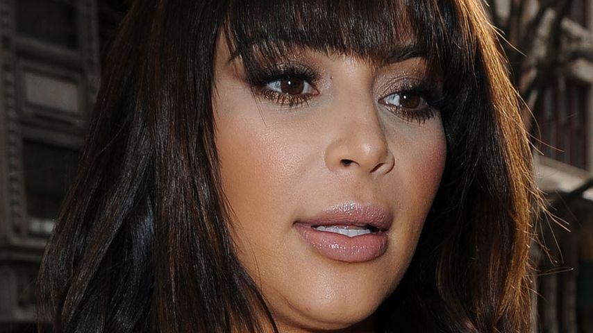 Schwangere Kim Kardashian isst nur noch Möhren!