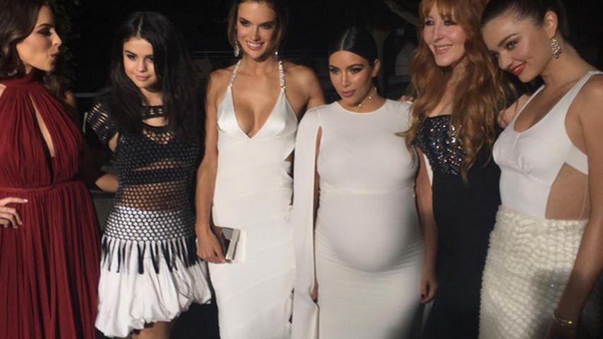 """Zwischen Models: Kim Kardashian fühlt sich """"extra"""" dünn"""