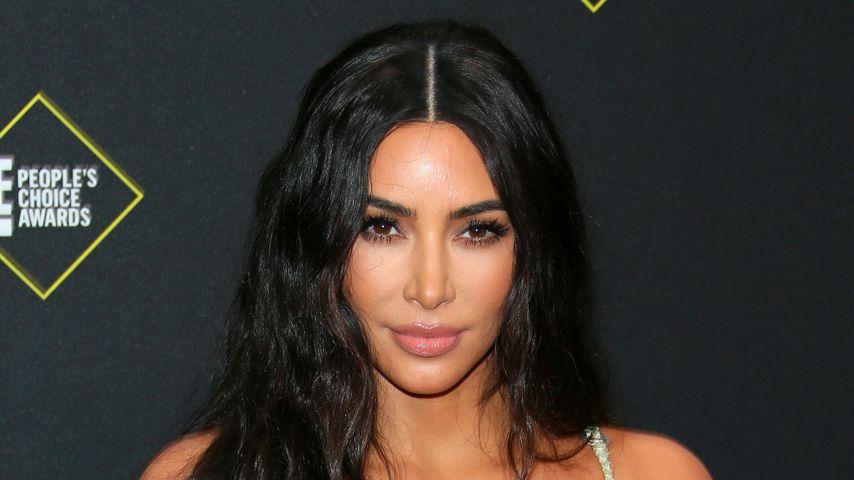 Kim Kardashian in Santa Monica im November 2019