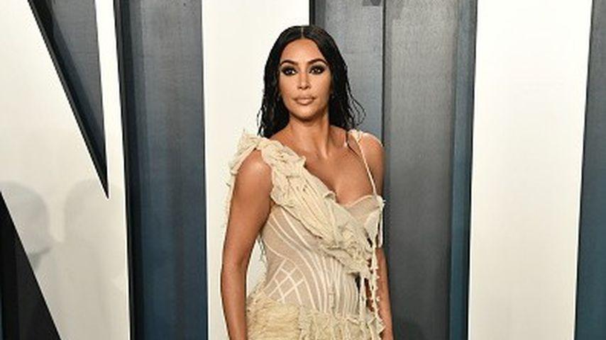 Kim Kardashian auf der Vanity Fair Oscar Party, 2020