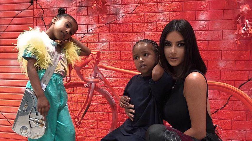 """""""Was ist passiert?"""" Fans werfen Kim Kardashian Nasen-OP vor"""
