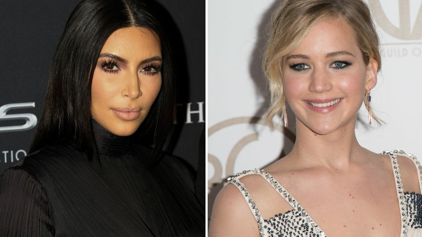 Kim Kardashian stolz: Jennifer Lawrence liebt mich