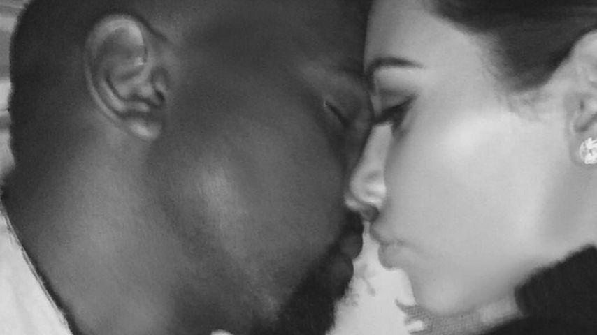 Voll verliebt: Kim Kardashians süße Liebeserklärung an Kanye