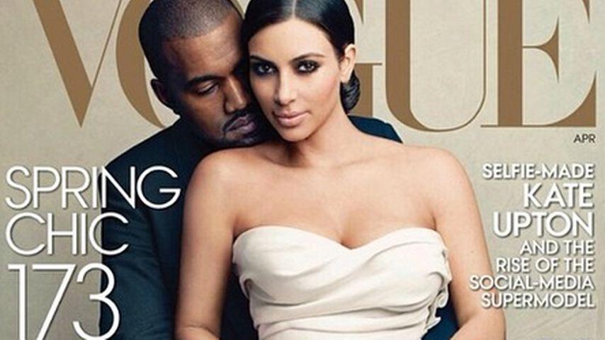 Kimye auf der Vogue: Rekord-Zahlen im Verkauf!