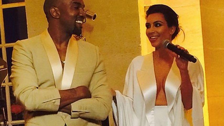 Liebeshymne: Kanye West schwärmt von seiner Braut