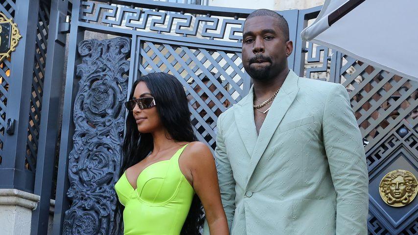 Kim Kardashian und Kanye West bei 2 Chainz' Hochzeit