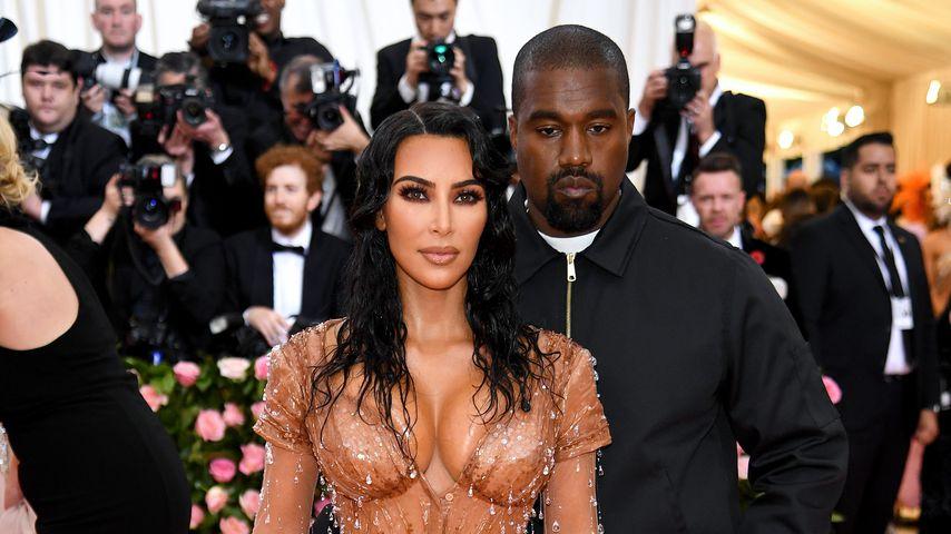 Kim Kardashian und Kanye West im Mai 2019 in New York