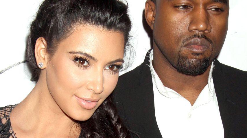Endlich! Kim Kardashian & Kanye West sind verlobt
