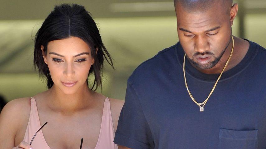 Kim und Kanye: Romantische Flitterwochen in Irland