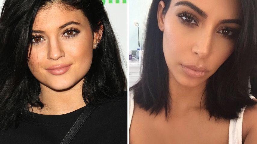 Haare ab: Wird Kim Kardashian nun zum Kylie-Klon?