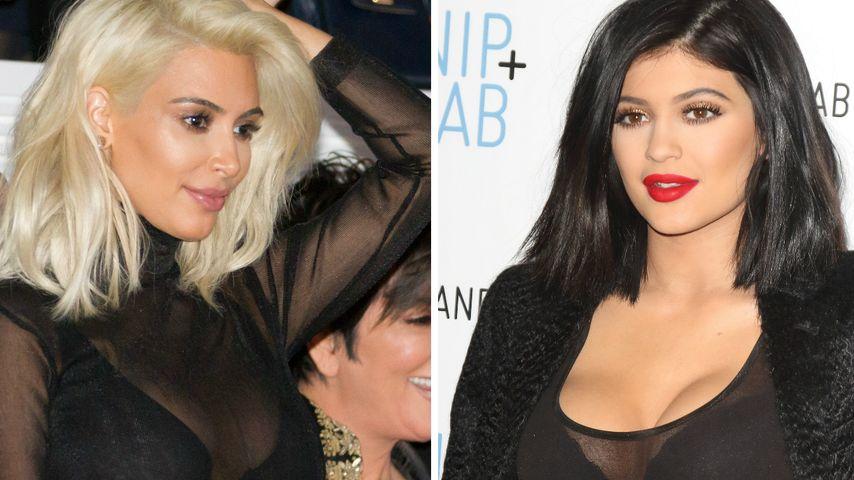 Kylie Jenner (17) kopiert Kims Nackt-Look