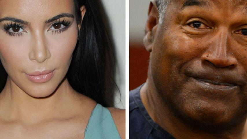 Kim Kardashian und O.J. Simpson