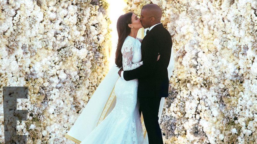 Kimye-Hochzeit: Seht hier die offiziellen Bilder