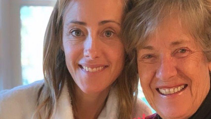 Kim Raver mit ihrer Mutter an Thanksgiving 2019