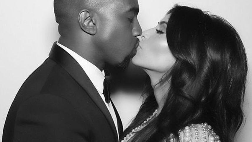 Noch immer happy! Kim & Kanye feiern 1. Hochzeitstag