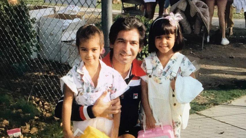 Bittersüßes Kindheits-Pic: Kim & Kourtney K. mit ihrem Papa!